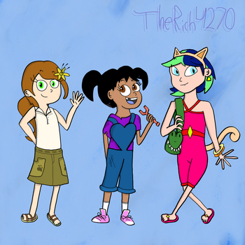 Sally, Molly, and April by Rich4270
