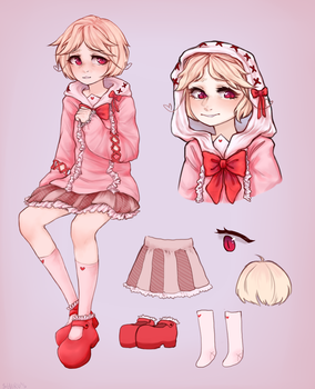 new mahou shoujo girl(decided to sell) by ShiruSublebowler