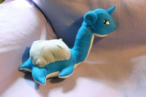 Lapras Plushie by wandering-dreamer
