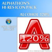 Alcohol 120 Icon by Alphathon