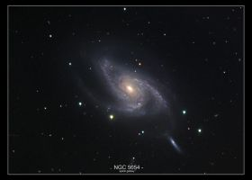 NGC 5054 Spiral Galaxy by MilchstrabeSTern
