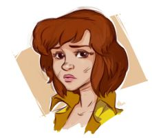 April O'neil portrait by Pa-Go