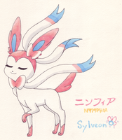 Nymphia - Sylveon by Angelkitty17