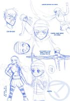 sketches 8D by UchihaMatheus