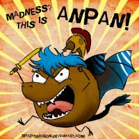 Anpanicus! by spartydragon