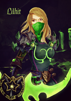 Lilhit the Rogue by Saliancia