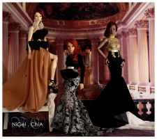 NiGel.ChiA Fall Winter 2012 Gown collection by Nigelchia
