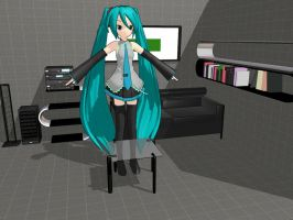MMD Room download by HatsuneNeko