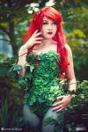 Poison Ivy cosplay by Hikarux33
