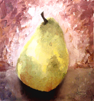 Pear Still Life by ForeverSoaring