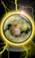 iPhone Raichu Wallpaper by T-Man666