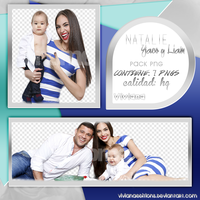 Pack Png Natalie Yaco y Liam by VivianaEditions