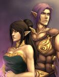 Tanwen and Rezal by Quirkilicious