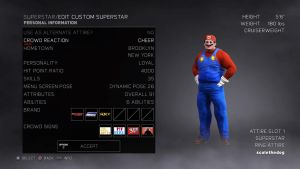 Mario now in WWE2K17! by Some-Crappy-Edits