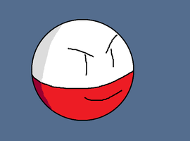 Pokemon Collab - Electrode Colored (HBD KAME!) by AstralMu