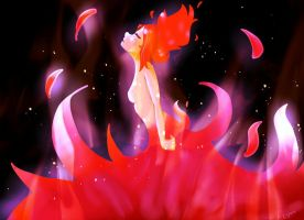 Flame Princess by cattySUP