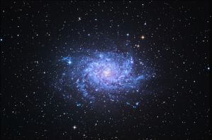 Messier 33 by keillly