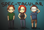 Spec-tacular: Russ, Red and Cry by YeojaButa