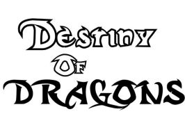 Destiny of Dragon logo by moulinneufbeast