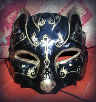 Black Wolf Mask by Namingway