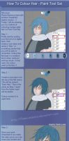 How to Colour Hair - Sai by Flame-Essence