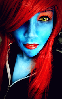 Undyne Cosplay by MadxHime