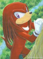 Knuckles by RainWaterfallsZone