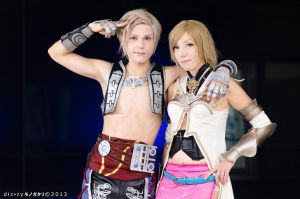 Vaan and Ashe Cosplay, FFXII by hakucosplay