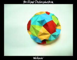 Brilliant Dodecahedron by wolbashi