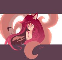 Ahri-League of Legends by Deve-Kun