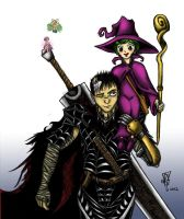 The Black Swordsman and The Witch by Scorpius007