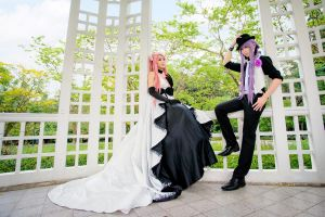 Haruma High Drop : Gakupo X Luka by Itchy-Hands