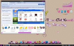 Tema IconPackager CuteKawaii by leyfzalley