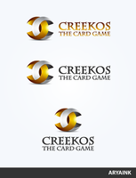 Logo 75 - Creekos Card Game by AryaInk