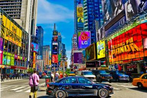 Times Square by pennuja