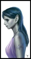 Moon Elf by Werlioka