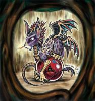 Dragon without a Mage by shivikai