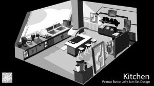 kitchen Design by hippybro