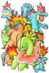 Pokemon - Starters Pokemon Gen2 by Arelle28