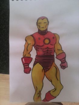 iron man by leannepixie