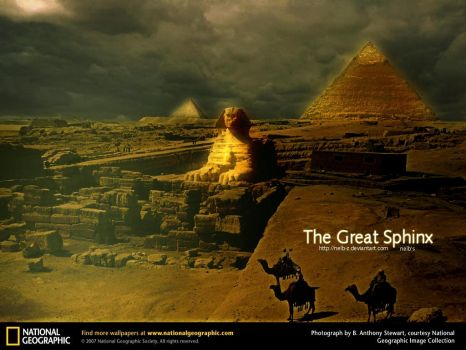 The Great Sphinx by nelb-Z