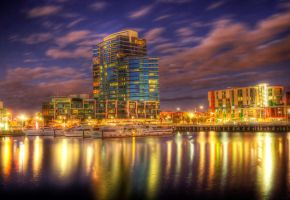 Docklands NewQuay HDR by DanielleMiner