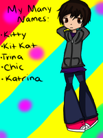 Many Names of Me by chicgurl95