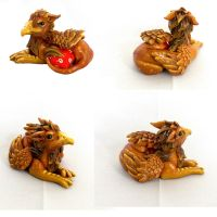 Little Dice Gryphon by LittleDragonDesigns