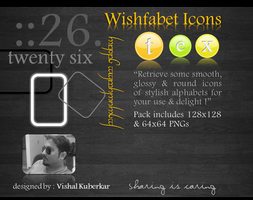 Wishfabet Icons by vishal-kuberkar