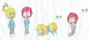 Fungi and Thorn's babies by xtoxicxrosex