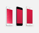 (RED) Wallpaper for iPhone 6 and 6 Plus by kiwimanjaro