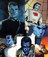 Collage of Thrawn by LadyIlona1984