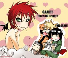 Gaara sexy no jutsu by DarkSahdow