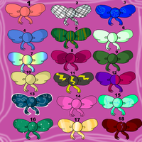 winx club ribbon hair adopts (open) by mermagic-adopts